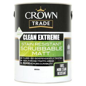 Crown Clean Extreme Matt (White)