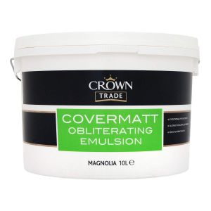 Crown Trade Covermatt Magnolia 10L