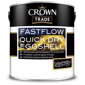 Crown Trade Fastflow Quick Dry Eggshell Colours