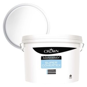 Crown Trade Super Covertex Brilliant White 15l