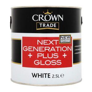 Crown Trade Next Generation Plus Undercoat White 2.5lt