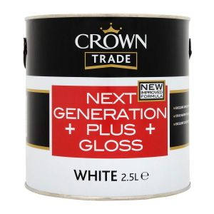 Crown Trade Next Generation Gloss White 2.5l