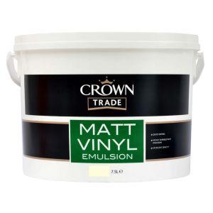 Crown Vinyl Matt Magnolia 7.5L