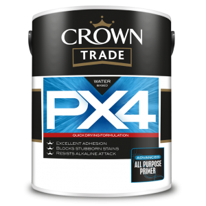 Crown Trade All Purpose Primer PX4 White