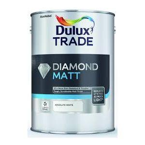 Dulux Trade LIGHT & SPACE Diamond Matt Absolute White 5L