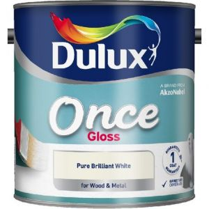 Dulux Retail Once Gloss Brilliant White