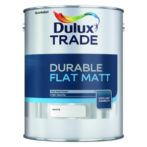 Dulux Trade Flat Matt White 5L