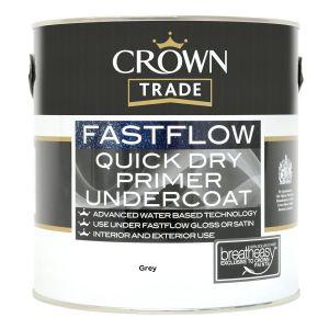 Crown Trade Fastflow Quick Dry Primer Undercoat Grey