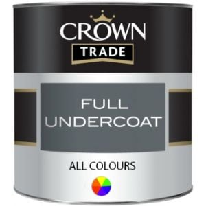 Crown Trade Full Undercoat (All Colours)