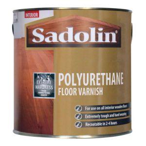 Sadolin Polyurethane Floor Varnish Gloss