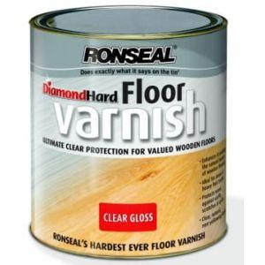 Ronseal Diamond Hard Floor Varnish (Clear Gloss)