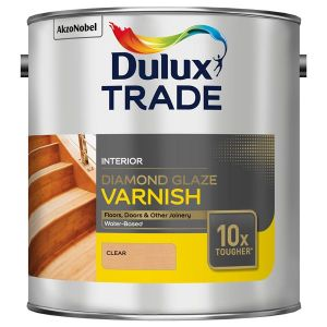 Dulux Trade Diamond Glaze Varnish Clear Gloss