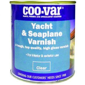 COO-VAR YACHT & SEA PLANE EGGSHELL VARNISH