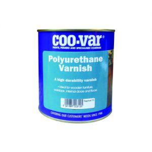 COO-VAR POLYURETHANE VARNISH EGGSHELL CLEAR