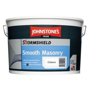 Johnstone's Stormshield Smooth Masonry 10L Colours
