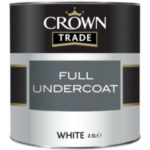 Crown Trade Full Undercoat (White)