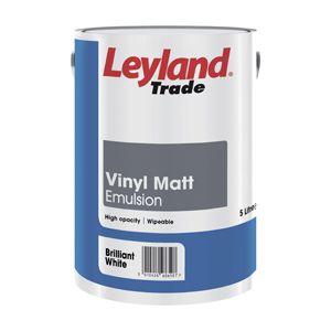 Leyland Vinyl Matt Brilliant White