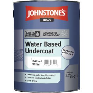 Johnstones Aqua Water Based Undercoat White