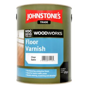 Johnstone's Floor Varnish Satin Clear