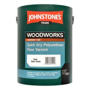 Johnstones Quick Dry Polyurethane Floor Varnish Satin