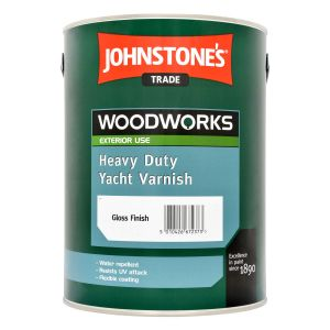 Johnstone's Heavy Duty Yacht Varnish Gloss Clear