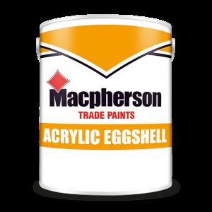 Macpherson Acrylic Eggshell (all colours)