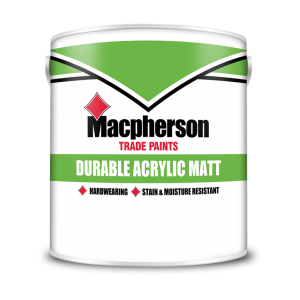 Macpherson Acrylic Durable Matt Colours
