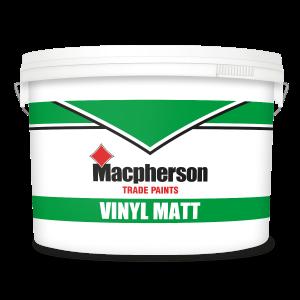 Macpherson Vinyl Matt (Light Colours) 10L