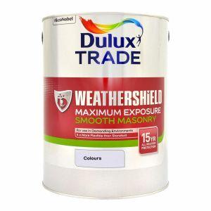 Dulux  Maximum Exposure Smooth Masonry Colours 5L