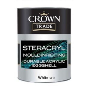 Crown Steracryl Mould Inhibiting Acrylic Eggshell White