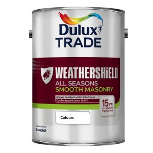 Dulux  Maximum Exposure Smooth Masonry Colours 5L