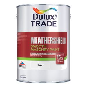 Weathershield Smooth Masonry Black