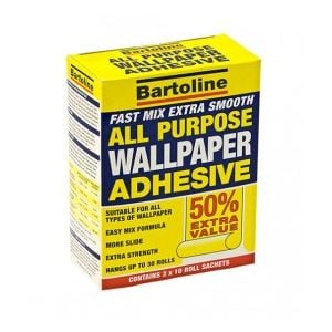 Bartoline Wallpaper Adhesive Trade Pack 50% Free (30 roll)