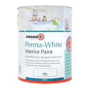 Zinsser Permawhite  Interior Satin Colours