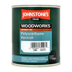 Johnstone's Polyurethane Gloss Varnish (all colours) 0.75ltr