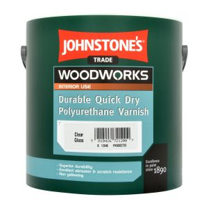 Johnstone's Quick Dry Polyurethane Varnish Gloss