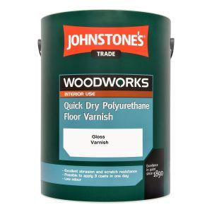 Johstones Quick Dry Polyurethane Floor Varnish Gloss