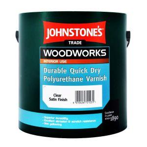 Johnstone's Quick Dry Polyurethane Varnish Satin