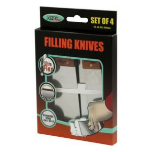 Axus Rosewood Stainless Steel Flexible Filling Knife Set
