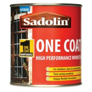 Sadolin One Coat High Performance Woodstain Tinted Colours 2.5L