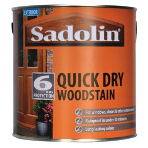 Sadolin Quick Drying Woodstain Tinted Colours 2.5L