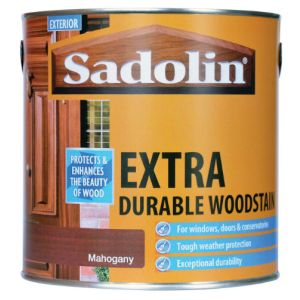 Sadolin Extra Durable Woodstain Tinted Colours