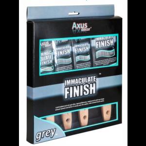 Axus Grey Immaculate Finish 4 pack Bush Set