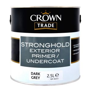 Crown Trade Stronghold Undercoat Dark Grey 2.5l