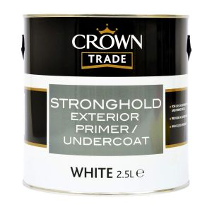 Crown Trade Stronghold Undercoat White 2.5L