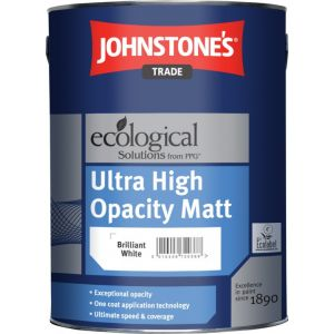 Johnstones Ultra High Opacity Matt White 5L