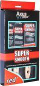 Axus Red Super Smooth Brush Set (3 PACK)