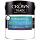 Crown Trade Steracryl Anti Bacterial Scrubbable Matt White 5l