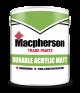 Macpherson Trade Acrylic Durable Matt Magnolia 2.5L
