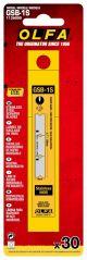Olfa Razor Edge Glass Scraper Blade 30 Pack 125mm